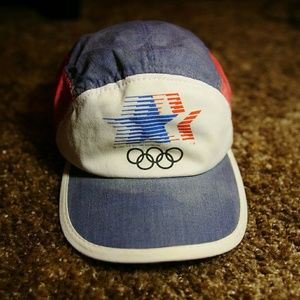 Vtg Adidas 1980 Olympic Committee hat